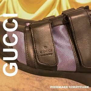 Gucci Shoes - EUC GUCCI Velcro Sneakers Trainers AUTHENTIC